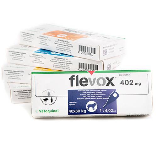 Pipeta Flevox Fipronil antiparasitario para perros 40-60 Kg