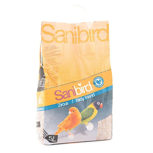Sanibird arena absorbente para jaulas de pájaros