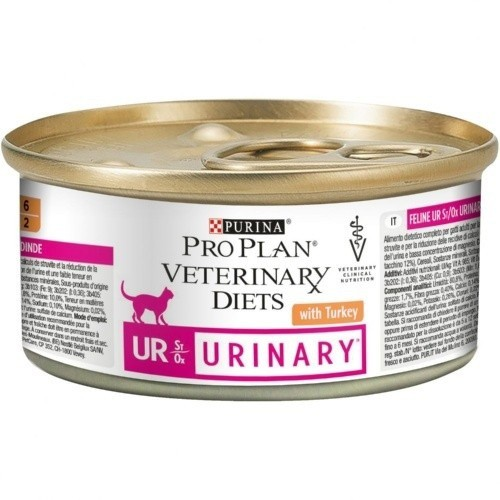 Comida húmeda PURINA PRO PLAN VETERINARY DIETS UR ST/OX Urinary para gatos