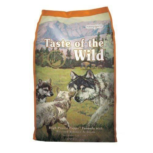 Taste of the Wild High Prairie Canine Puppy con Bisonte y venado