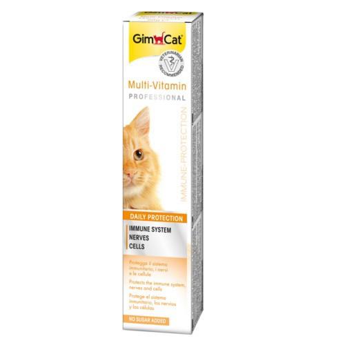 Pasta multi-vitaminada sabor queso para gatos y hurones