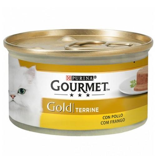 Gourmet mousse terrine sabor pollo para gatos