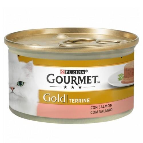 Gourmet mousse terrine sabor salmón para gatos