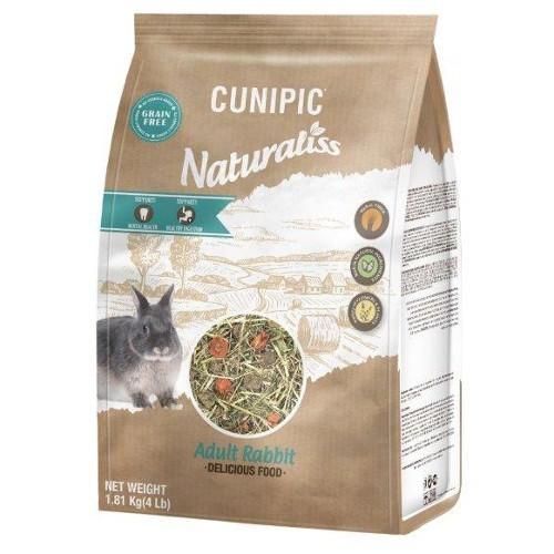 Cunipic Naturaliss para conejos adultos