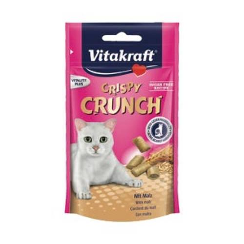 Vitakraft Crispy Crunch con malta para gato