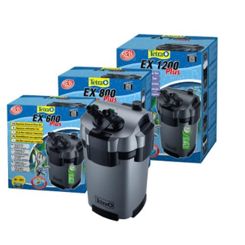 Tetra ex plus filtro exterior para acuarios tiendanimal for Filtro para pecera