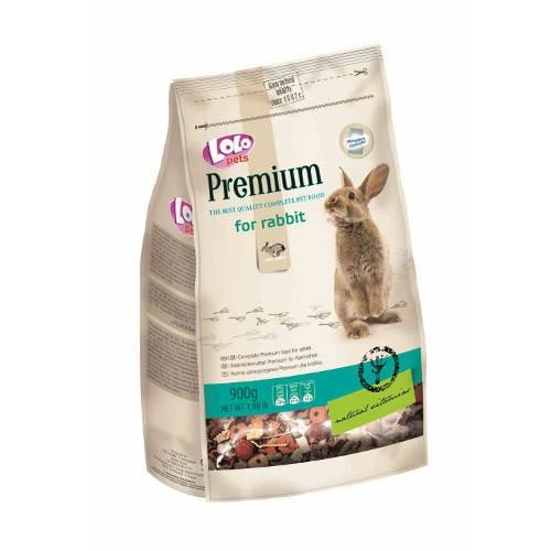 Lolo Pets Premium Mezcla completa para Conejos