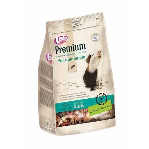 Lolo Pets Premium Mezcla completa para Cobayas