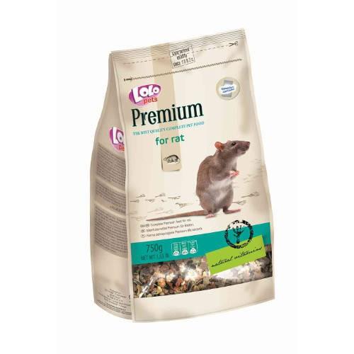 Lolo Pets Premium Mezcla completa para Ratas