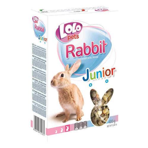 Lolo Pets Mezcla Completa para Conejos Jóvenes