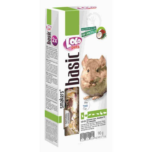 Lolo Pets Smakers Barritas para Chinchillas