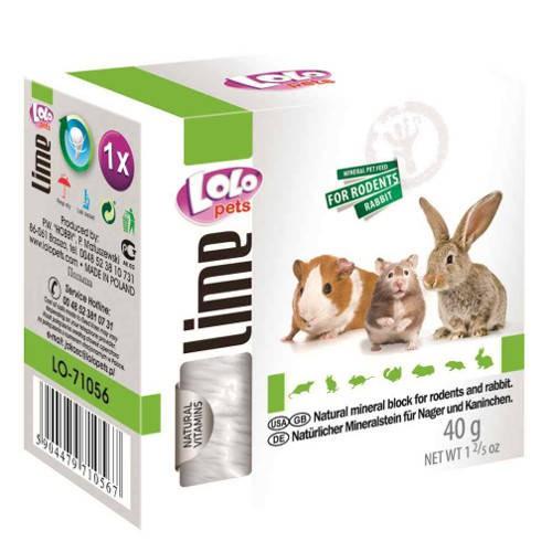 Lolo Pets Bloque Mineral pequeño para roedores