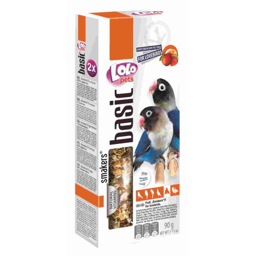 Lolo Pets Smakers Barritas para Inseparables