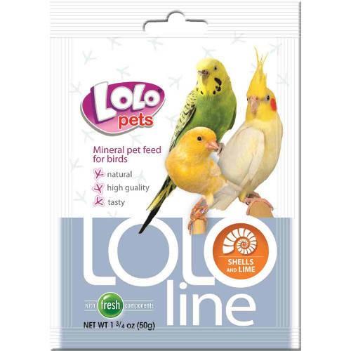 Lolo Pets Lololine Saquitos de complemento para aves Conchas