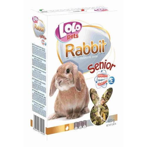 Lolo Pets Mezcla Completa para Conejos Mayores