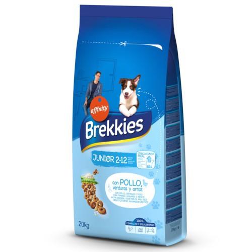 Brekkies Junior Original pienso para cachorros