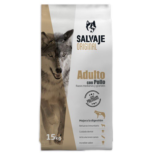 Salvaje Adult Superior balanced Nutrition for dogs