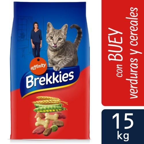 Brekkies Excel gato adulto Mix Buey y Verduras