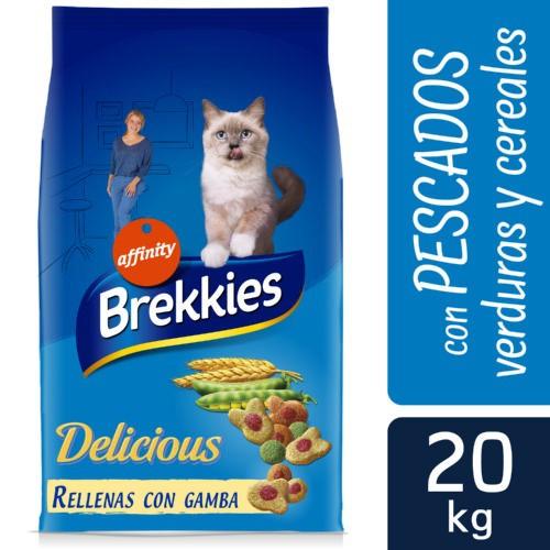 Brekkies Excel gato adulto Delice Pescado