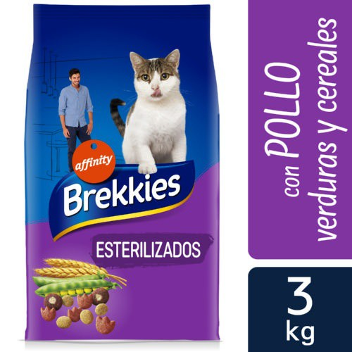 Brekkies Excel gato adulto esterilizado