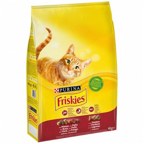 Friskies gato adulto Buey, Hígado y Verduras