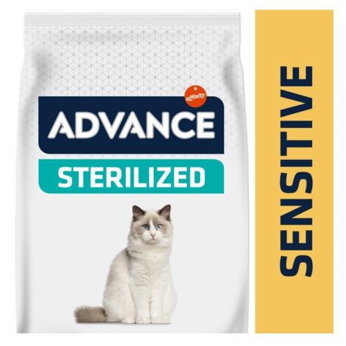 Advance Sterilized Sensitive pienso para gatos esterilizados con salmón y cebada