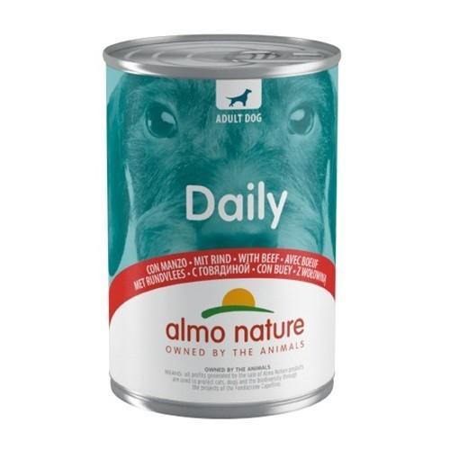 Almo Nature Daily Menu Buey Alimento húmedo natural para perros