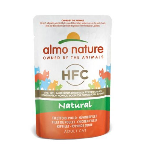 Almo Nature Classic alimento húmedo natural gatos 55 gr