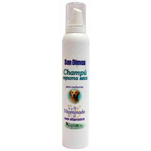 Champú espuma seca para cachorros