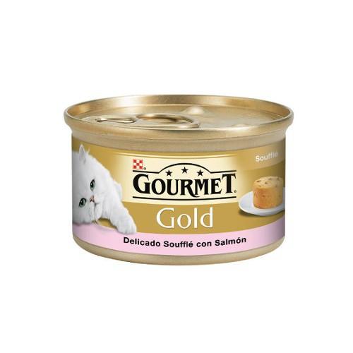 Gourmet Gold Soufflé con Salmón
