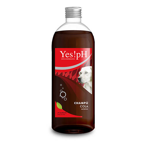 Yes!pH Champú nutritivo de cola para perros y gatos
