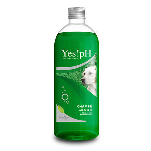 Yes!pH Menthol Shampoo help in external parasite control