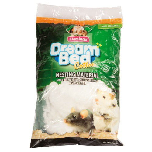 Material de algodón para nido de roedores Dream Bed Cotton