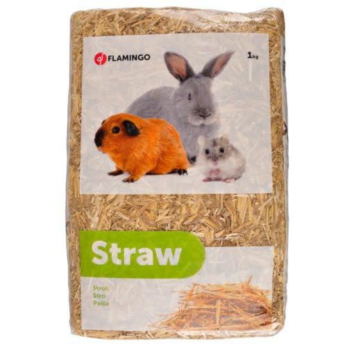 Paja prensada para alimentación y lecho de roedores
