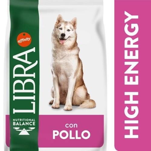 Libra High Energy Pienso para perros activos