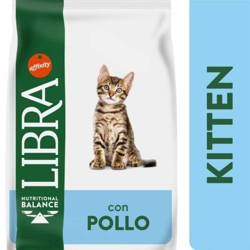 Libra Kitten para Gatos con Pollo