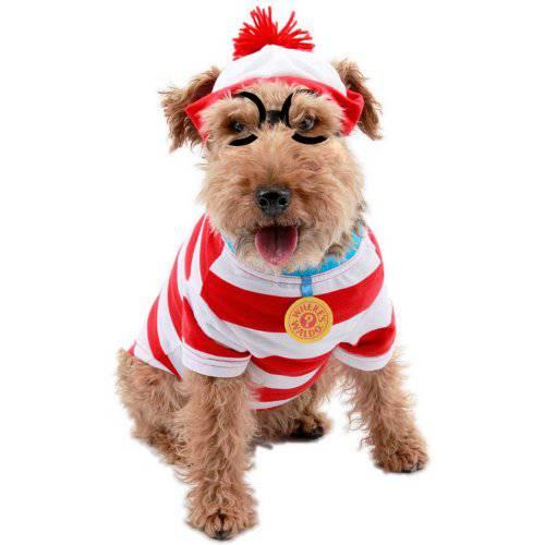 Disfraz de wally para perros tiendanimal for Estanque para perros