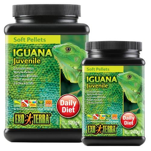 Alimento Iguana Juvenil de EXO TERRA