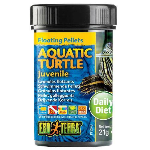 Alimento flotante para tortugas acuáticas Juveniles EXO TERRA