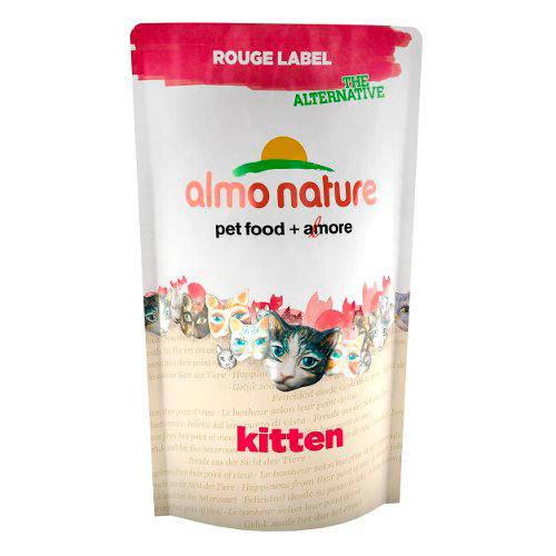 Almo Nature Rouge Label Kitten alimento seco natural gatitos