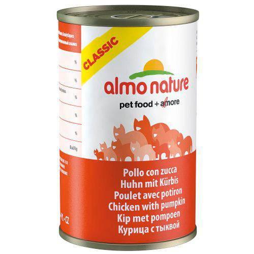 Almo Nature Classic alimento húmedo natural gatos 140 gr