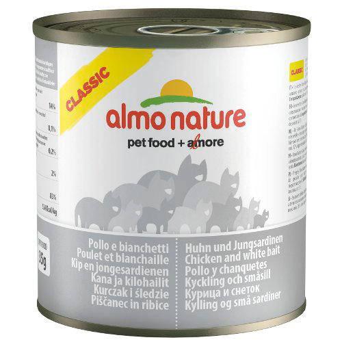 Almo Nature Classic alimento húmedo natural gatos 280 gr