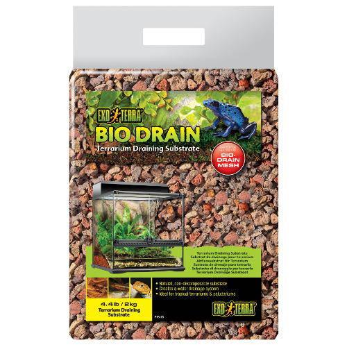 Substrato de drenaje para terrario Bio Drain Exoterra