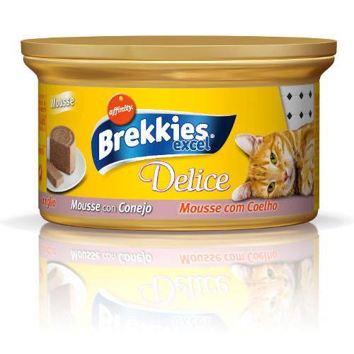 Brekkies Excel gato Delice Mousse de Conejo