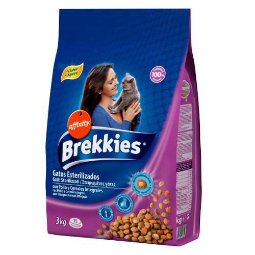 Brekkies excel gato adulto esterilizado tiendanimal - Alimento para gatos esterilizados ...