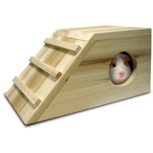Casa de madera para roedores Cavia Cabana