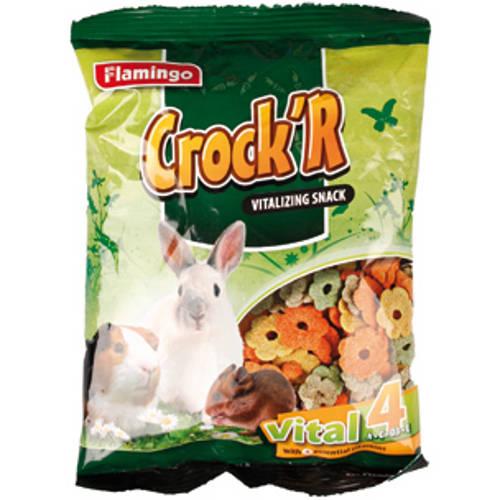 Crock'r snack vital con 4 vitaminas para roedores