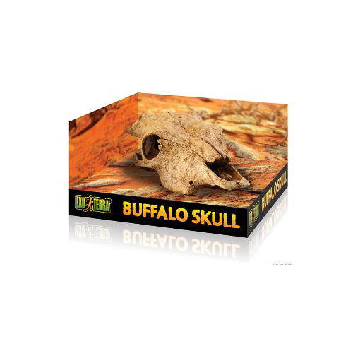 Exo Terra Refugio cráneo de búfalo para reptiles y anfibios