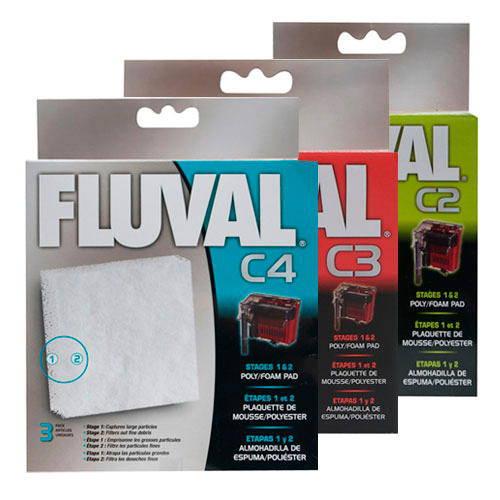 Foamex de poliester Recambio filtro mochila Fluval C