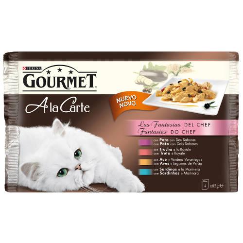 Gourmet a la carte multipack Las Fantasias del Chef